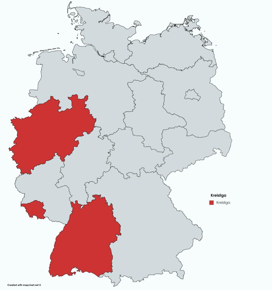 kreisliga kreisklasse karte