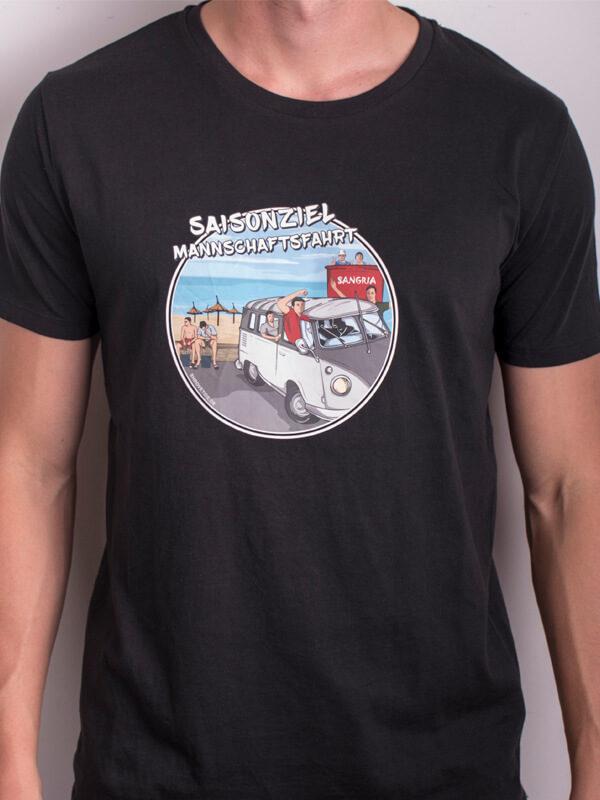 Saisonziel Mannschaftsfahrt T-Shirt Kreisliga