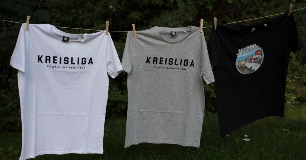 T-Shirts für Kreisliga und Kreisklasse Amateurfußball