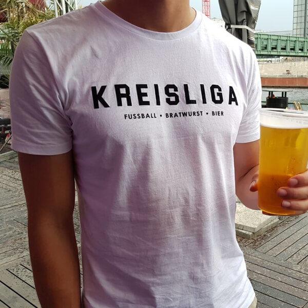 Kreisliga T-Shirt weiß