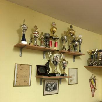 Kreisliga Pokale im Vereinsheim