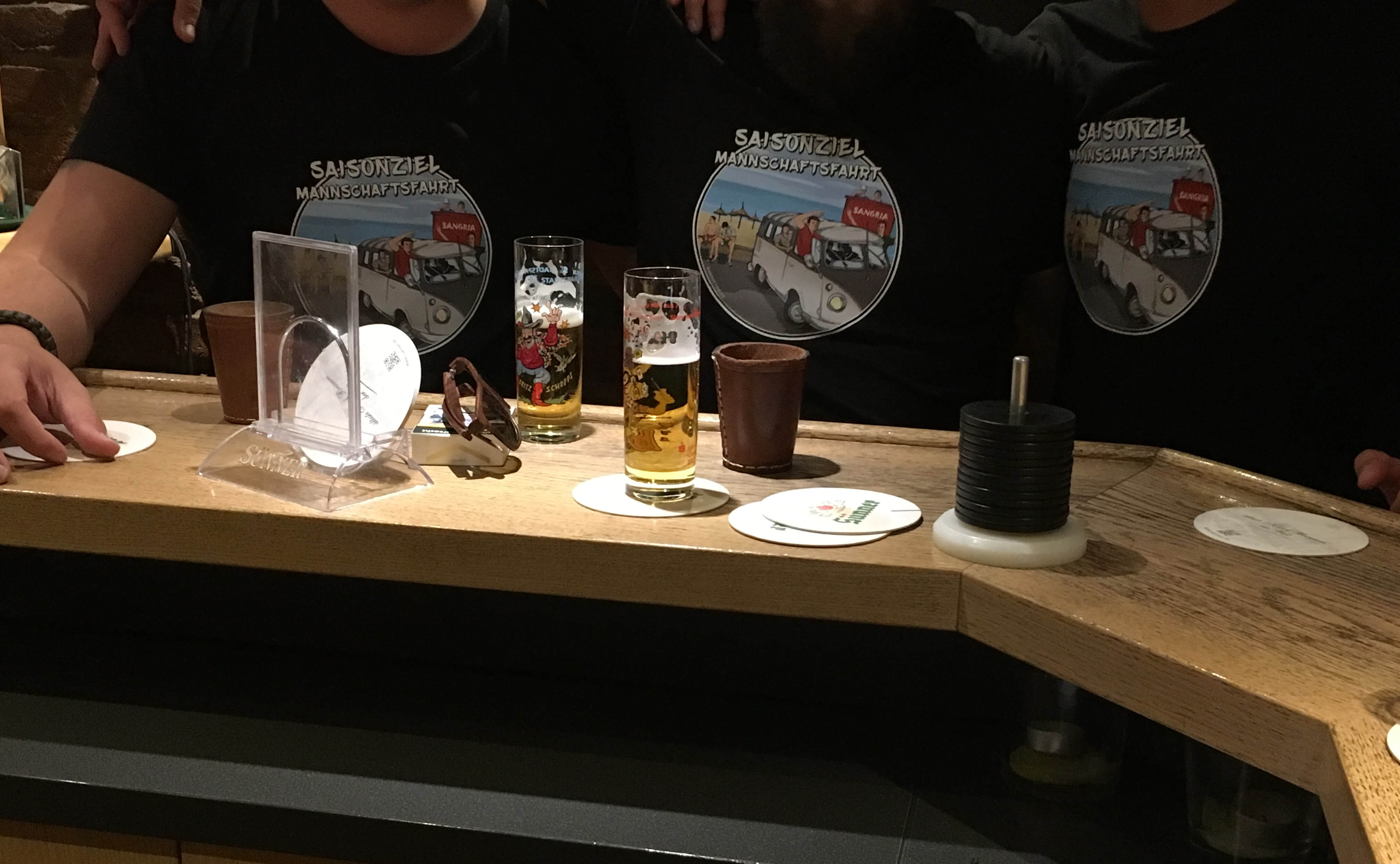 Kreisliga Vereinsheim Mannschaftsabend