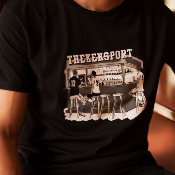Kreisliga Thekensport T-Shirt